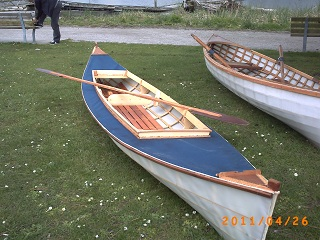 2 man decked canoe
