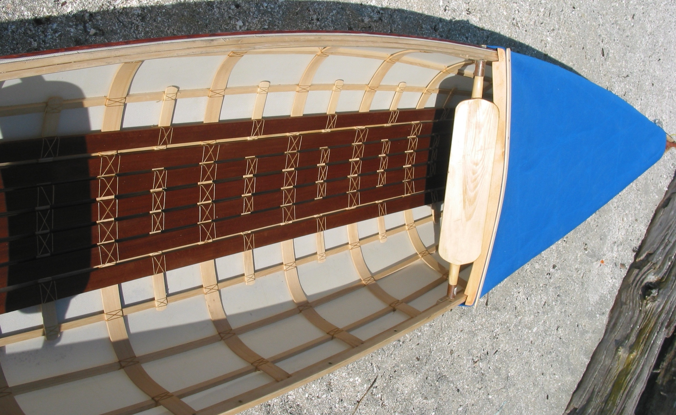 Skin on frame kayak plans - Twopersoncanoe Two Man Canoe