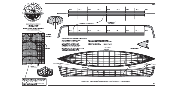 Canoe, Kayak & Rowboat Plans
